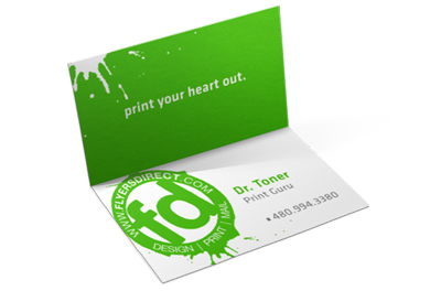 Folding Business Cards Printer in Phoenix | Printing in Phoenix