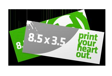 3.5 x 8.5 Flyers & Handouts Printing Phoenix   Printer Tempe Arizona