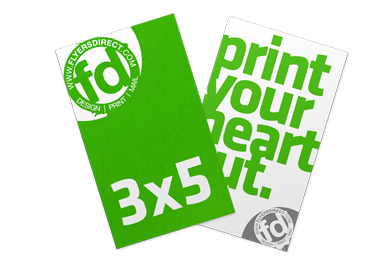 3 x 5 Flyers & Handouts Printing Phoenix | Printer Tempe Arizona