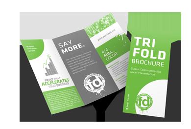 8.5 x 11 Folded Brochure Printing Tempe | Brochure Print Phoenix
