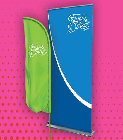Banners, Signs, Flags, Tents, Tradeshow Displays