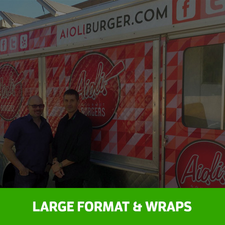 Large Format and Vehicle Wraps
